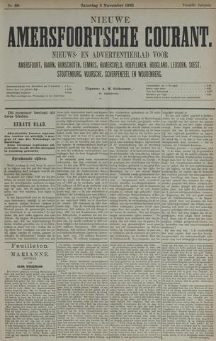 Nieuwe Amersfoortsche Courant 1883-11-03