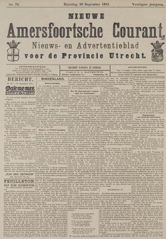 Nieuwe Amersfoortsche Courant 1911-09-16