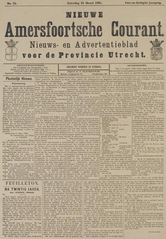 Nieuwe Amersfoortsche Courant 1905-03-25