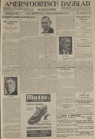 Amersfoortsch Dagblad / De Eemlander 1933-07-28