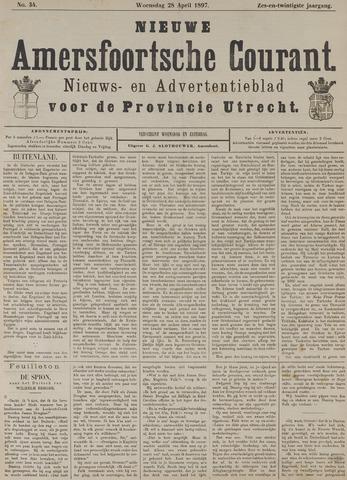 Nieuwe Amersfoortsche Courant 1897-04-28