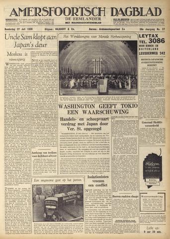 Amersfoortsch Dagblad / De Eemlander 1939-07-27