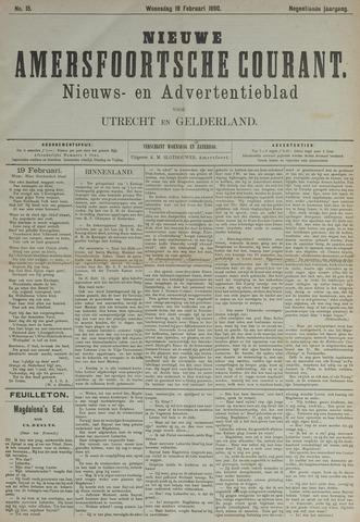 Nieuwe Amersfoortsche Courant 1890-02-19