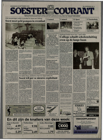 Soester Courant 2000-09-20