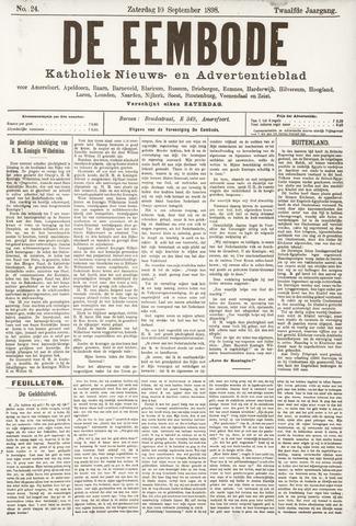 De Eembode 1898-09-10