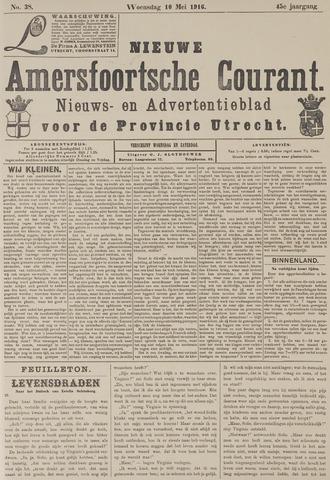 Nieuwe Amersfoortsche Courant 1916-05-10