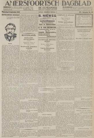 Amersfoortsch Dagblad / De Eemlander 1928-09-12