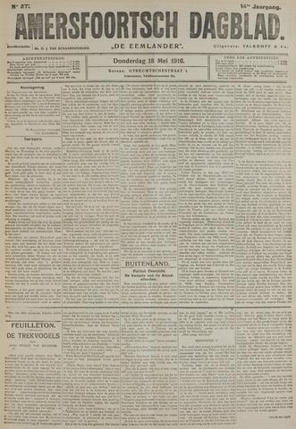 Amersfoortsch Dagblad / De Eemlander 1916-05-18