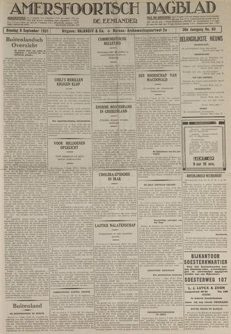 Amersfoortsch Dagblad / De Eemlander 1931-09-08