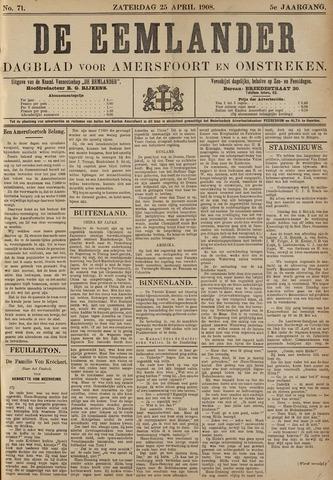 De Eemlander 1908-04-25