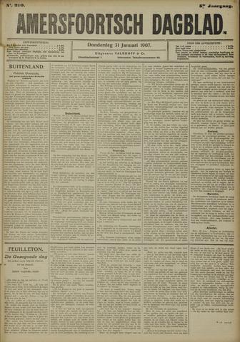 Amersfoortsch Dagblad 1907-01-31