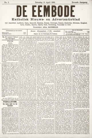 De Eembode 1893-04-15
