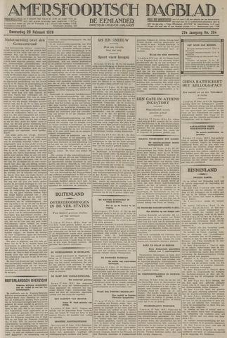 Amersfoortsch Dagblad / De Eemlander 1929-02-28