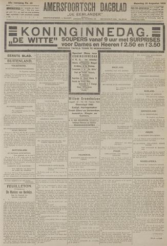 Amersfoortsch Dagblad / De Eemlander 1926-08-30