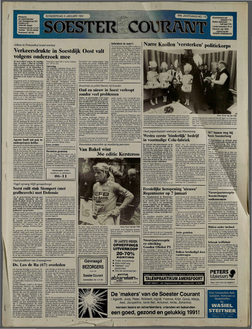 Soester Courant 1991-01-03