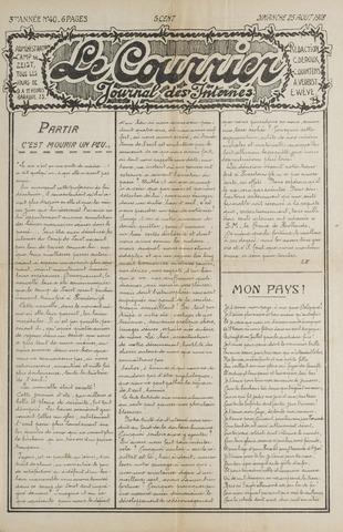 Le Courrier 1918-08-25