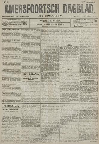 Amersfoortsch Dagblad / De Eemlander 1914-07-24