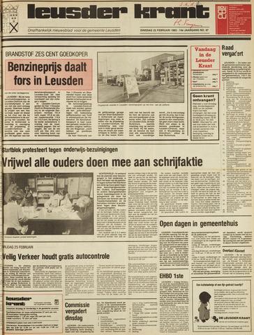 Leusder Krant 1983-02-22