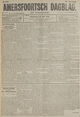 Amersfoortsch Dagblad / De Eemlander 1916-05-25