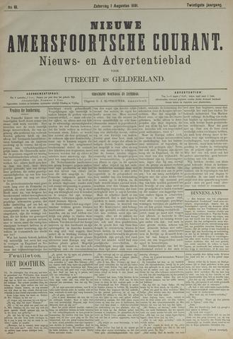Nieuwe Amersfoortsche Courant 1891-08-01