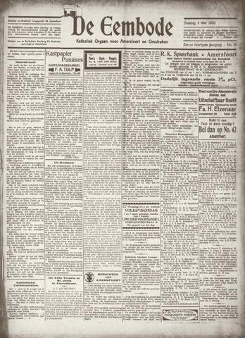 De Eembode 1932-05-03