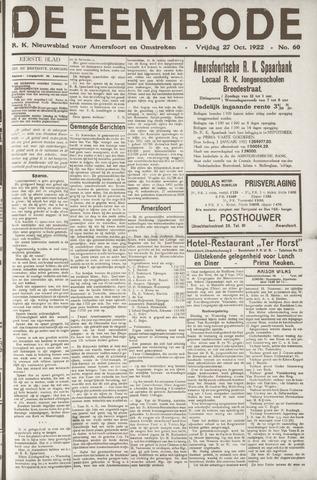 De Eembode 1922-10-27