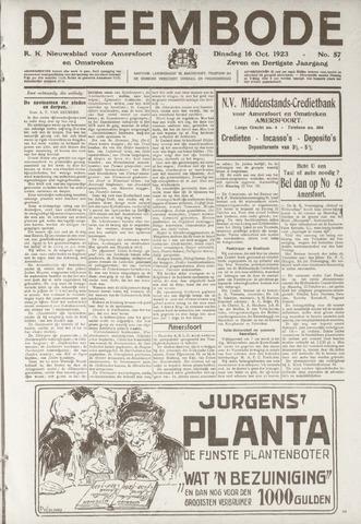 De Eembode 1923-10-16