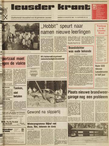 Leusder Krant 1985-08-20