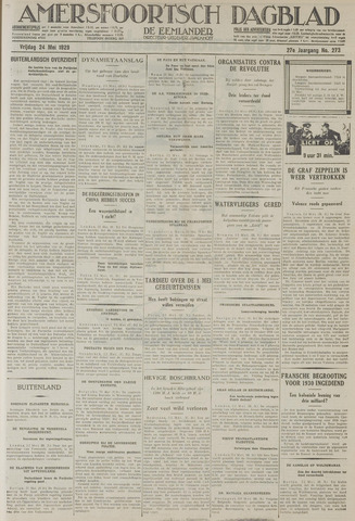 Amersfoortsch Dagblad / De Eemlander 1929-05-24