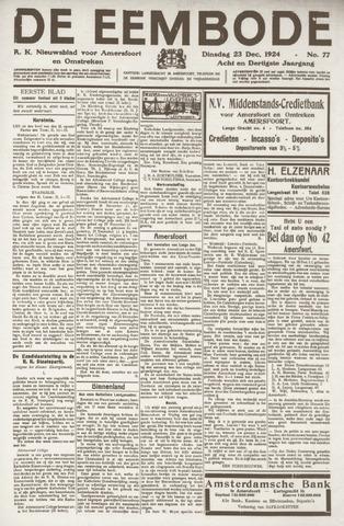 De Eembode 1924-12-23