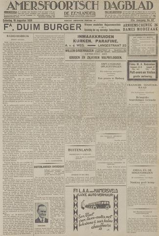 Amersfoortsch Dagblad / De Eemlander 1928-08-18
