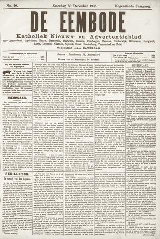 De Eembode 1905-12-30