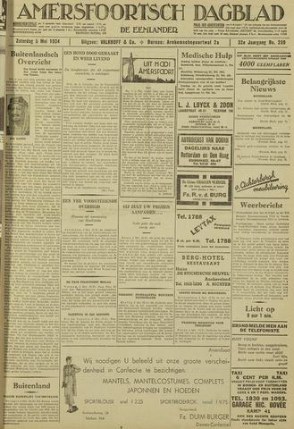 Amersfoortsch Dagblad / De Eemlander 1934-05-05
