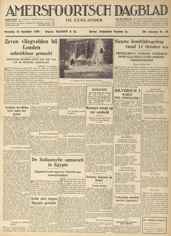 Amersfoortsch Dagblad / De Eemlander 1940-09-18