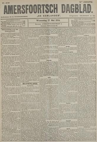 Amersfoortsch Dagblad / De Eemlander 1914-05-27