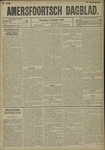 Amersfoortsch Dagblad 1910-10-04