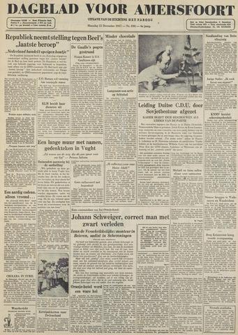 Dagblad voor Amersfoort 1947-12-22