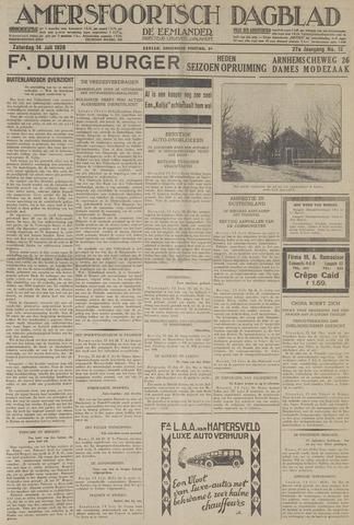 Amersfoortsch Dagblad / De Eemlander 1928-07-14