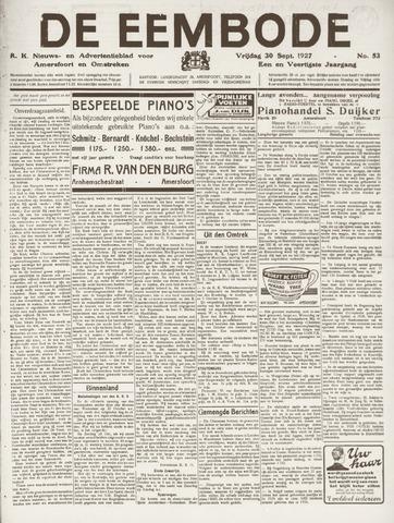 De Eembode 1927-09-30
