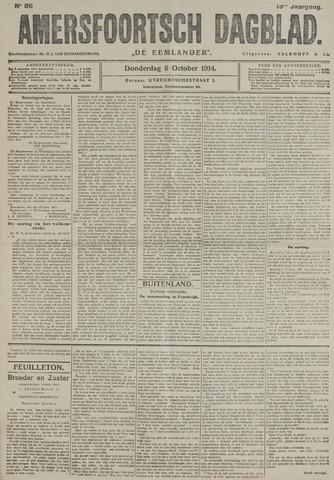 Amersfoortsch Dagblad / De Eemlander 1914-10-08