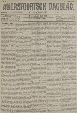 Amersfoortsch Dagblad / De Eemlander 1916-07-06