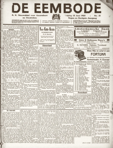 De Eembode 1925-06-12