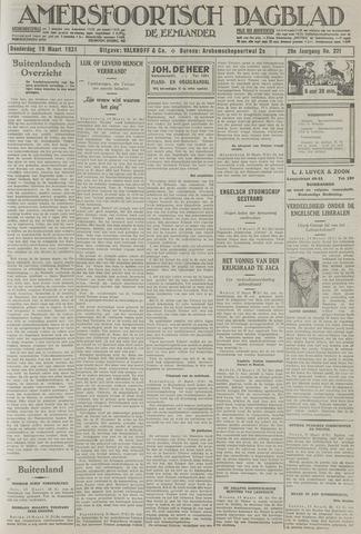 Amersfoortsch Dagblad / De Eemlander 1931-03-19