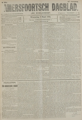 Amersfoortsch Dagblad / De Eemlander 1915-03-02
