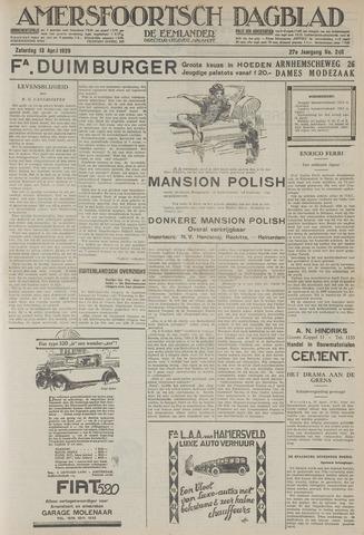 Amersfoortsch Dagblad / De Eemlander 1929-04-13