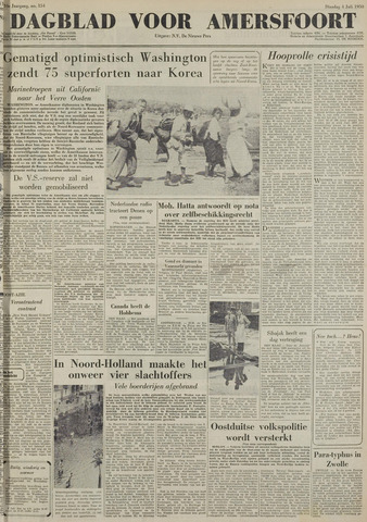 Dagblad voor Amersfoort 1950-07-04