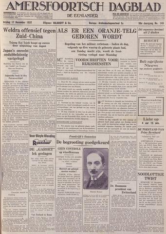 Amersfoortsch Dagblad / De Eemlander 1937-12-17
