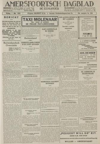 Amersfoortsch Dagblad / De Eemlander 1931-05-01
