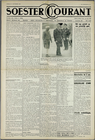 Soester Courant 1962-09-25