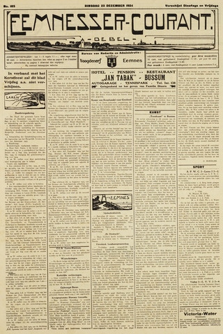 Eemnesser Courant 1924-12-23
